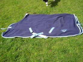 Horse Riding Equipment - Saxon Fleece Cooler Rug