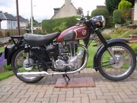 MATCHLESS CLASSIC MOTORCYCLE 1955 MODEL G3LS 350cc