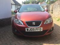 SEAT IBIZA 1.9 Sport TDi Diesel 5 door. Ruby Red, 72mpg, Great condition, 74k, FSH, 1 previous owner