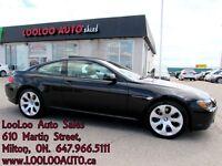 2005 BMW 645 645Ci V8 Panoramic Navi Certified 2 YR Warranty