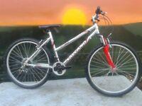 Salcano Mountineer Aluminium 7005 Ladies Unisex Gents Light Weight Bike MINT