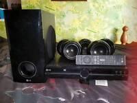 Dvd surround sound system