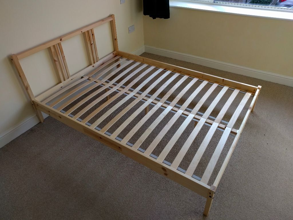 ikea fjellse bed frame, great condition, with slats | in earl