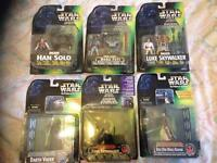 Star Wars and sci fi toys and books