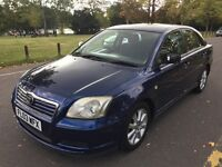 2003 Toyota Avensis 1.8 VVT-i T3-S 5dr Automatic Low Miles @07445775115