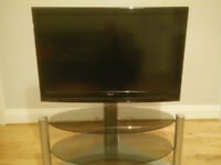 "37"" Full HD Television with Television stand included"