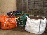 Free tun sacks of soil