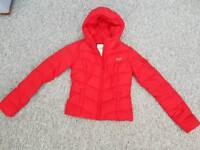 RED HOLLISTER COAT - SIZE S