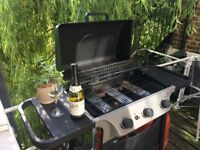 Barbecue 3 gas burner