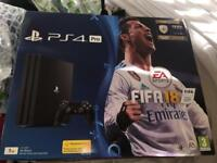 PS4 1TB With Fifa 18