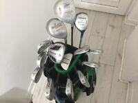 Men's 14John Letters Golf Clubs + Deluxe Hillbilly Golf Bag £100