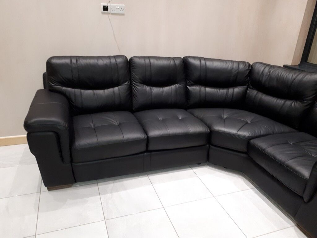 Scs Italia Style 3 Seater Corner Sofa And Armchair In Barry Vale