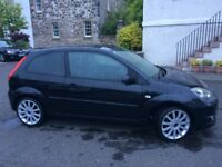 Ford fiesta st 2005, 83,000 miles, black, superb condition, years mot.
