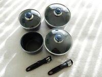 Set of Tefal Ingenio pans