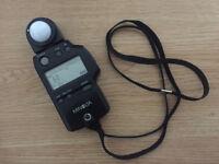 Minolta Auto Meter IVF - Ambient Light + Flash Meter .