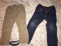 Boys jeans 2/3 years next