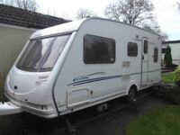 Sterling Eccles Spphire 5 birth caravan (with motor mover)
