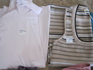 Maternity Clothes (Size Small + Large)