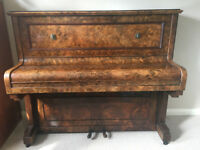 Goulden & Wind Metal framed upright piano