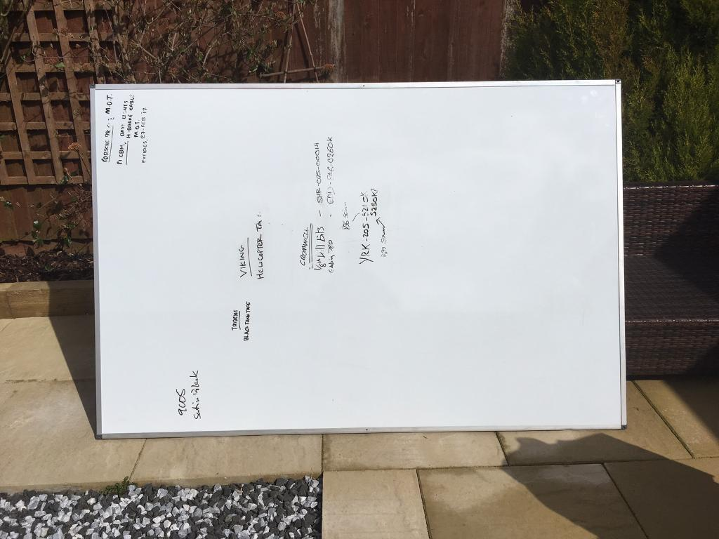 Giant Whiteboard 1 2m X 8m Great Condition