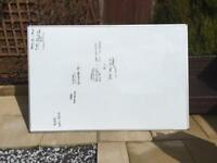 GIANT WHITEBOARD 1.2m x 1.8m GREAT CONDITION