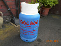gas bottle 13kg aprox 1/4 full