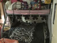 Double and single bunk bed free