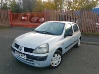 RENAULT CLIO 1.2ltr *** FULL MOT-FREE DELIVERY ***
