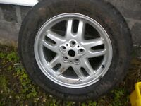 Range Rover Alloy wheel.
