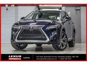 2018 Lexus RX 450h HYBRIDE EXECUTIF AWD; CUIR TOIT PANO GPS AUDI