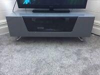 Tv Cabnet Grey Gloss
