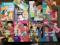 Children's books - in French - Kinra girls - Lili Chantilly - Batch
