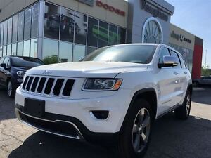 2015 Jeep Grand Cherokee Limited - Leather - P.sunroof -Navigati
