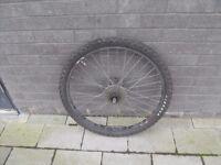 MTB bicycle rear wheel.(disc brakes)