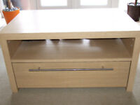 Next light oak effect Coffee Table with drawer