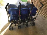 Triple buggy