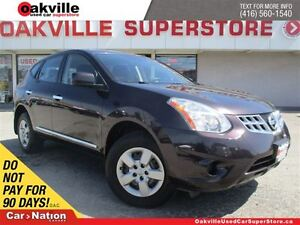 2011 Nissan Rogue S | BLUETOOTH | ACCIDENT FREE | LOCAL TRADE |