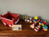 Kids wooden toys (job lot)