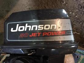 Johnson 80 / 115 jet power long shaft