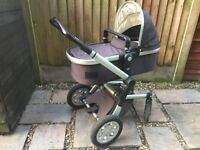 Joolz Day Pram and Pushchair in Anthracite Grey with accessories Exc Condition
