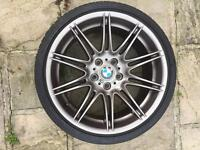 """BMW MV4 19"""" alloys and tyre"""