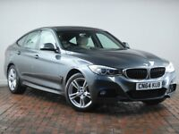 BMW 3 SERIES 320D M SPORT [Professional, Xenon Headlights] 5DR STEP AUTO (grey) 2014