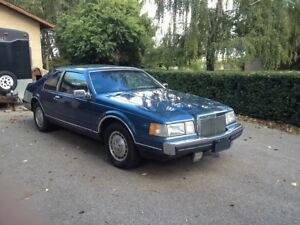 1985 Lincoln Continental Mark Vii LSC