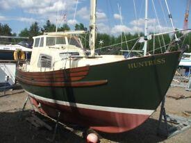 Boat Fisher Freeward 25 motor sailer