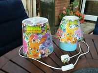 Moshi Monster Lamp and light shade