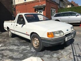 1990 Ford P100 Pick Up, 2.0 Pinto, 5 Speed Manual, 12 Months MOT