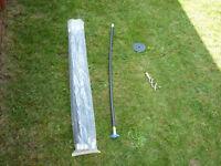 drain rods set of 10 each 3 ft. Plus 2 accessories.