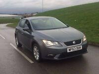 2013 63reg Seat Leon 1.6 TDI SE 5dr (start/stop) diesel***NEW SHAPE**ZERO TAX**ONE OWNER