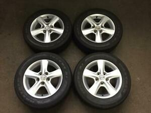 MAZDA 3 15 FACTORY ORIGINAL SUMMER WHEEL KIT !! 7/32 !!