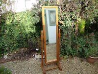 Swing Mirror (solid pine)